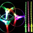 Spingere Luminescence mano UFO Toy - colore casuale