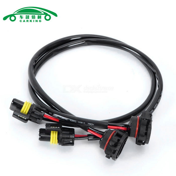 CARKING 5202 H16 Wire Harness for HID Ballast to Socket Conversion Kit