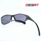 OSSAT J181A 100% UV Protection Fashion Sunglasses - Silver + Grey