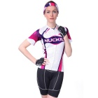NUCKILY Utomhus Women Sports på kort ärm Jersey + Short Pants