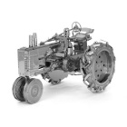 DIY 3D Puzzle Model Assembled Educational Toys Tractor - Silver