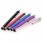 Universal 5-in-1 Metal Pens Fine Capacitive Touch Screen Silicone Stylus Pens for IPHONE / Samsung