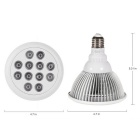 YouOKLight YK6016 E27 18W 12-LED IP55 Plant Grow Light (AC 85 ~ 265V)