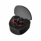 Cwxuan Super Mini Oculto Bluetooth V4.1 Auricular In-Ear - Negro