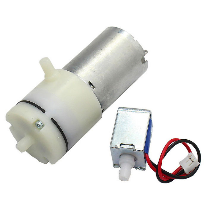 370 Gas Liquid Dual Purpose DC 3.7V Large Suction Micro Vacuum Pump
