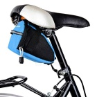 Yanho YA099 Outdoor bicicleta Saddle Bag w / Reflective Strip - Azul