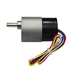 High Torque DC 24V 115RPM Brushless engrenagem Motor - Black + Cinza