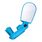 Multi-Angle Bicycle Rearview Mirror - Lake Blue