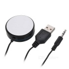 Bluetooth V4.1 Car Hands-free Audio Music Receiver - Black