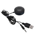 Bluetooth V4.1 Car Mãos Livres Audio Music Receiver - Preto