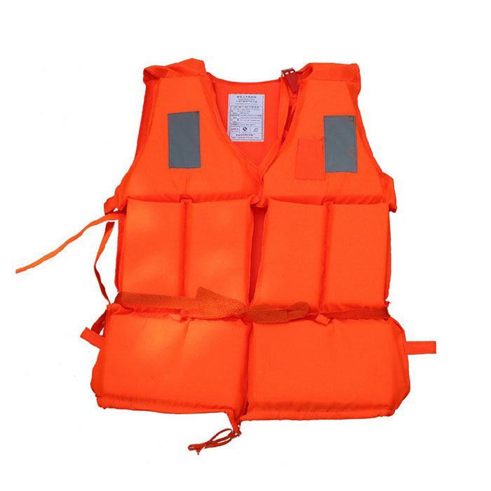 Professional Outdoor Water Floating Sports Adult Life Jacket - OrangeForm  ColorOrangeQuantity1 DX.PCM.Model.AttributeModel.UnitMaterialEnvironmental protection PVCTypeOthersPacking List1 * Life jacket<br>