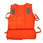 Professional Outdoor Water Floating Sports Adult Life Jacket - Orange