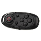Mini wireless bluetooth V3.0 selfie obturador controlador - preto