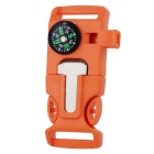 Outdoor Survival Buckle Multi-Tool - Orange