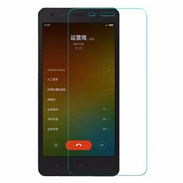 9H Tempered Glass Film for Xiaomi Redmi 2 - Transparent