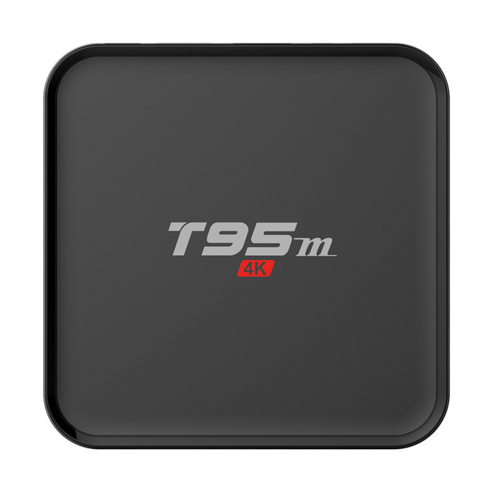 T95M 4K S905 Quad-Core Android 5.1 Reproductor de Smart TV - Negro (US Plugss)