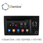 Buy Quad-Core Android 4.4 Car DVD Player GPS Navi Audi A4 S4 RS4 2002-2007 Radio