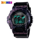 SKMEI 1150 50M Waterproof Multifunction Sport Watch - Purple