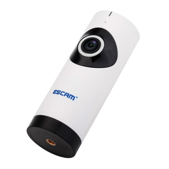 ESCAM Moai QP110 Wi-Fi Night Vision 185' Wide Lens Camera ...