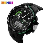 SKMEI 1081 50M Waterproof Multifunction Sport Watch - Green