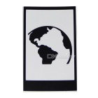Hat-Prince Earth Pattern Removable Skin Sticker for IPAD - Black