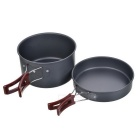 Fire-Maple Outdoor Cooking Pot & Pan Set - Grey