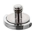 1/4 Quick Release Plate C Ring Camera Inner Hexagon Screw - Silver