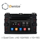 Ownice C300 Android 4.4 1024*600 Car DVD Player for Toyota prado