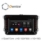 Buy Ownice C300 Android 4.4 Car DVD Player VW Golf Polo Bora Jetta