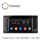 2 Din Android 4.4 HD1024 * 600 Quad-Core автомобильный DVD-плеер с GPS для VW Touareg Transporter