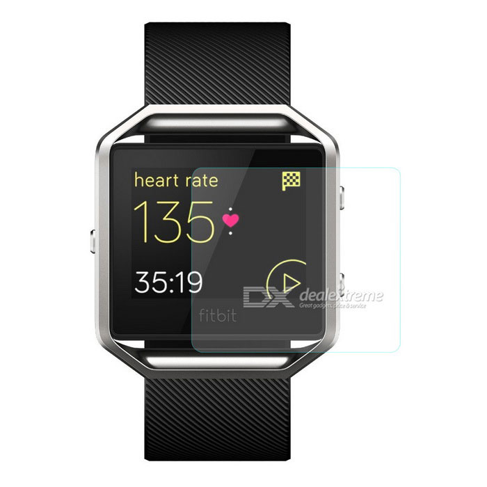Hat-Prince 0.2mm Tempered Glass Film for Fitbit Blaze - Transparent