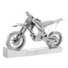 3D Stereo DIY Educational Metal Building Block Motorcycle