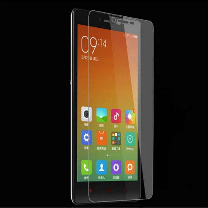 Case Flip Cover For Xiaomi Redmi Note 2 Silver Gratis Tempered Glass Source · 9H Tempered