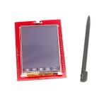 2.4 Inch TFT LCD Touch Screen Module + Touch Pen - Red