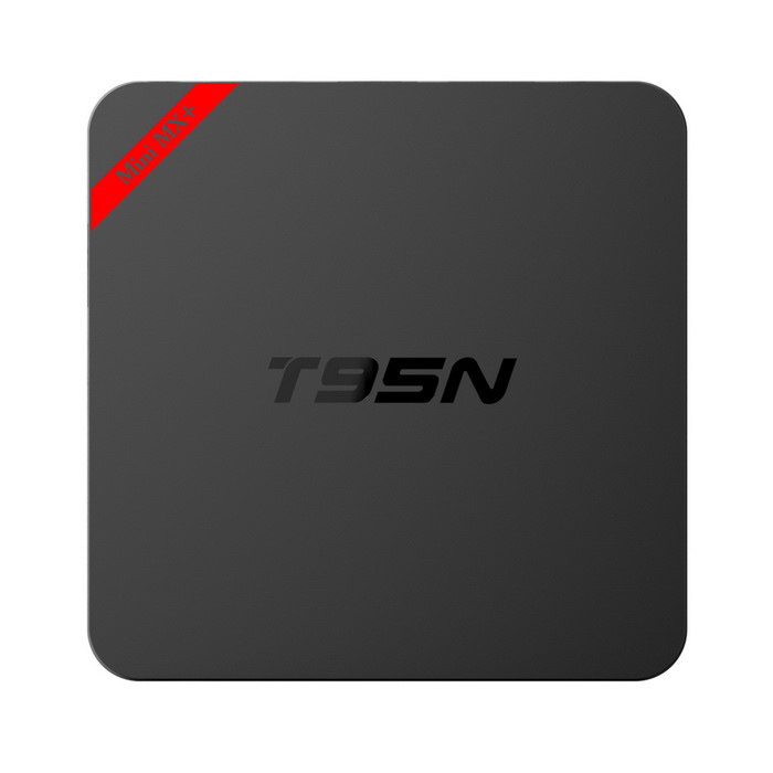 T95N -Mini mx + 4K S905X quad -core android 6.0 leitor de inteligenteTV - preto