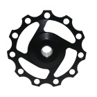 Cycling 11-Tooth Aluminum Alloy Rear Derailleur Pulley - Black