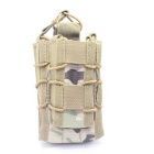 Tactical Open Top Double Decker Rifle Pistol Mag Pouch cartouche clip Pouch Hunting Magazine Bag