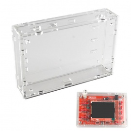 Acrylic Sheet Housing Case for DSO138 Oscilloscope - Transparent