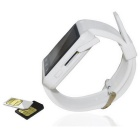 "KICCY U9 1.44 ""GSM Watch Phone / Anti perdido, podómetro - Blanco"