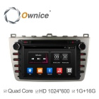 Ownice C300 Quad-Core Android 4.4 DVD-плеер автомобиля для Mazda 6 RuiYi