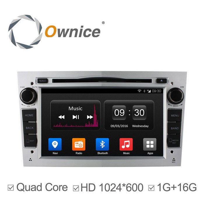 Ownice C300 Android 4.4 DVD do carro para Opel Astra Vectra Zafira