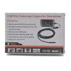 Waterproof HD 2.0MP 9mm 2m Industrial Endoscope - Black