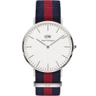 Daniel Wellington 0201DW Men's Oxford Stainless Steel Watch - Blue+Red