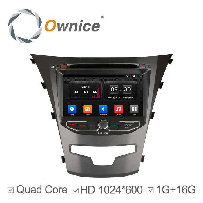 Ownice C300 Quad-Core Android 4.4 Car DVD pro Ssangyong Korando 2014