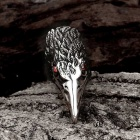 Men's Fashion Cool Punk Style 316L Stainless Steel Eagle Shapes Ring