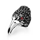 Men's Fashion Cool Punk Style 316L Stainless Steel Eagle Shaped Ring