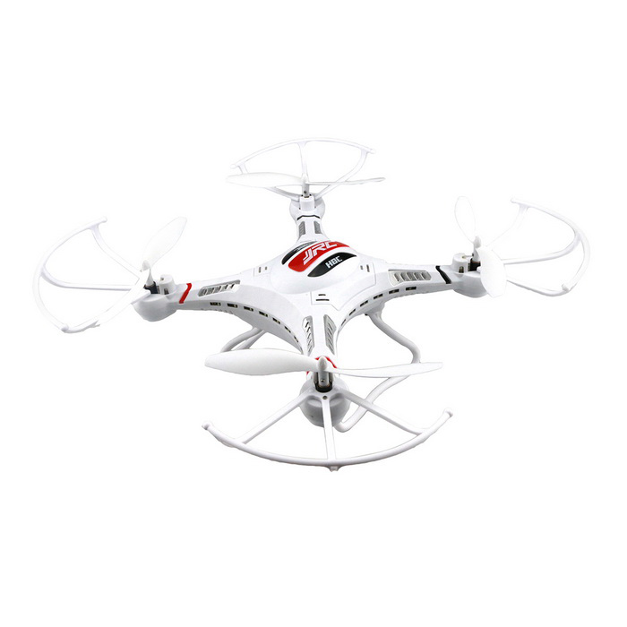 JJRC H8CH 4-CH R/C Quadcopter w/ 6-Axis Gyro / Lamp - White + Red