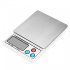 "MH-888 600g / 0.01g 2.2"" LCD Jewelry Precision Scales - White"