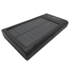 "SUNGZU ""12000mAh"" Dual USB Solar Power Battery Bank - Black"