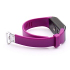 H3 Waterproof 3ATM Bluetooth Smart Watch Heart Rate Monitor - Purple